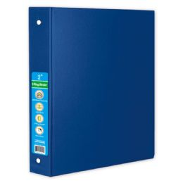 36 Wholesale Hard Cover Binder In Blue