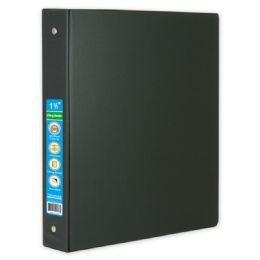 48 Wholesale Hard Cover Binder In Black