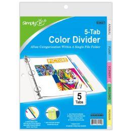 96 Wholesale 3 Ring Binder Dividers