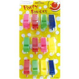 96 Wholesale Party Favor Mini Whistles