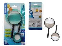 72 Wholesale 2 Piece Magnifying Glass