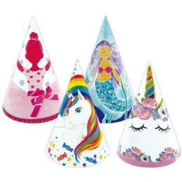 96 Wholesale 6 Count Birthday Hat