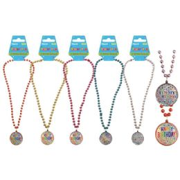 96 Wholesale Birthday Necklace