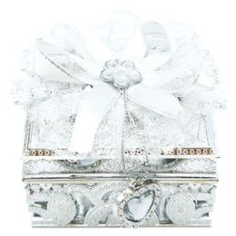 96 Wholesale Jewelry Box In Silver