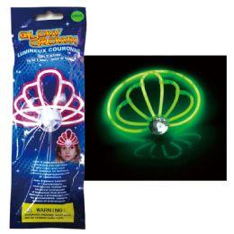 96 Wholesale Glow Crown