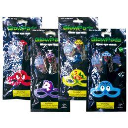 96 Wholesale Glowing Eye Mask