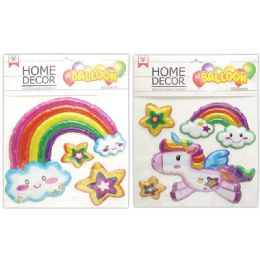 48 Units of Room Decoration Sticker Unicorn - Stickers