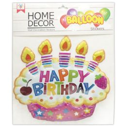 48 Units of Room Decoration Sticker Happy Birthday - Stickers