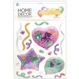 48 Units of Room Decoration Sticker Mermaid Pattern - Stickers