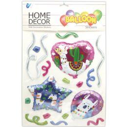 48 Units of Room Decoration Sticker Llama Pattern - Stickers