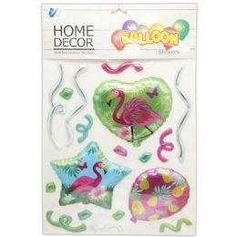 48 Wholesale Room Decoration Sticker Flamingo Pattern