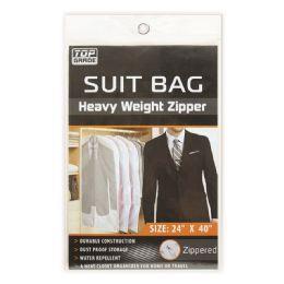 96 Units of Mens Suit Bag Clear - Mens Apparel