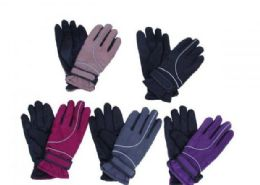 36 Units of Waterproof Cold Weather Women Men Gloves Wrist Leashes - Ski Gloves
