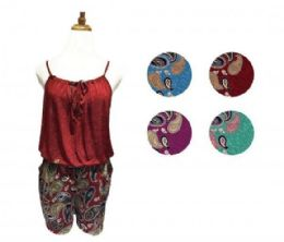 36 Units of LADIES SHORT JUMP SUIT - Womens Rompers & Outfit Sets