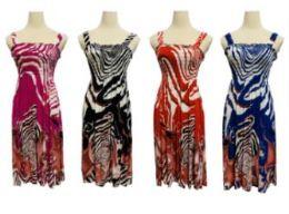 72 Units of Women Summer Tunic Dress Casual Loose Flowy Swing Shift Dresses - Womens Sundresses & Fashion