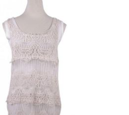 36 Units of Women Crochet Swimsuit Cover Up Hollow Out Beach Dress - Womens Swimwear