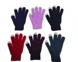 240 Units of Warm Magic Gloves Cold Weather Gloves Knit Gloves Assorted Colors - Winter Gloves