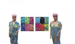 60 of Womens Printed Lounge Robe
