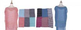 60 of Womens Printed Sleeveless Blouse Shirt