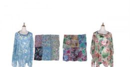 60 of Womens Printed Poncho Batwing