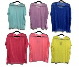 72 of Women Summer Loose Top Solid Cotton Sleeveless Vest Round Neck T Shirts