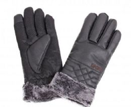 48 Units of Men's Leather Winter Glove - Leather Gloves