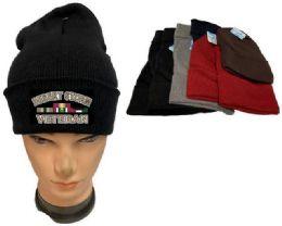 36 Units of Desert Storm Veteran Mix Color Winter Beanie - Winter Beanie Hats