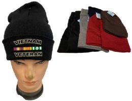 36 Units of Vietnam Veteran Winter Beanie - Winter Beanie Hats