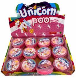 72 Units of Unicorn Slime Putty - Slime & Squishees