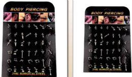 288 Wholesale Body Piercing Body Jewelry