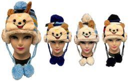24 Units of Kids Knitted Winter Hat Little Bear - Junior / Kids Winter Hats