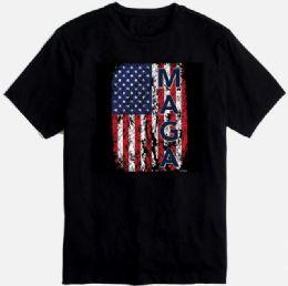 12 Units of Maga Black Color T Shirt - Mens T-Shirts