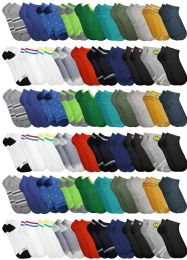 480 Units of Yacht & Smith Assorted Pack Of Boys Low Cut Printed Ankle Socks Bulk Buy - Kids Socks for Homeless and Charity