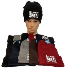 24 Units of Black Lives Matter Winter Beanie - Winter Beanie Hats