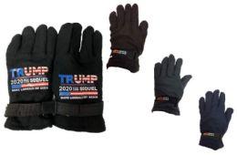 24 Units of Trump 2020 Sequel Fleece Glove - Fleece Gloves