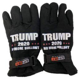 24 Units of Trump No More Bullshit Fleece Glove - Fleece Gloves