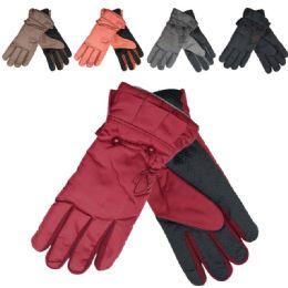 48 Bulk Women's Cold Weather Ski Gloves