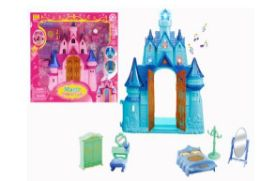 18 Units of Magic Castle With Light And Sound - Girls Toys