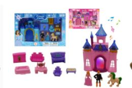 30 Units of Castle With Light And Sound - Girls Toys