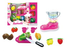 12 Units of Kitchen And Food Play Set With Light And Activity - Girls Toys