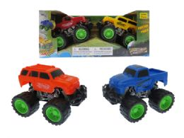 36 Units of Friction Monster Truck - Cars, Planes, Trains & Bikes