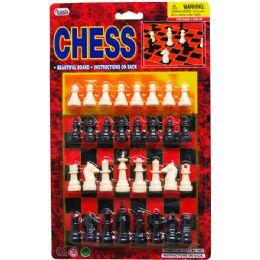 72 Bulk Chess Game Set