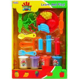 12 Units of Creative Plasticine Play Set In Window Box - Clay & Play Dough