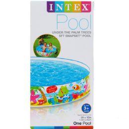 6 Units of Snorkel Snapset Pool - Beach Toys