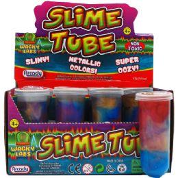 96 Units of Metallic Color Slime Tube - Slime & Squishees