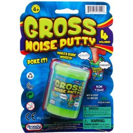 72 Units of Gross Noise Putty In Cup - Slime & Squishees