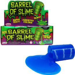 96 Units of Barrel Of Slime In Display Box - Slime & Squishees