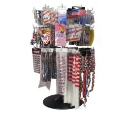 300 Wholesale Assorted Patriotic Flags Earring And Pins