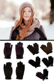 36 Units of Genuine Leather Gloves In Assorted Colors - Leather Gloves