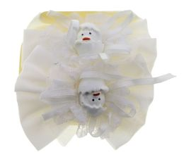96 Wholesale Easter Barrette With Hatching Chick Design